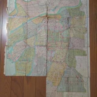 大阪市街地図