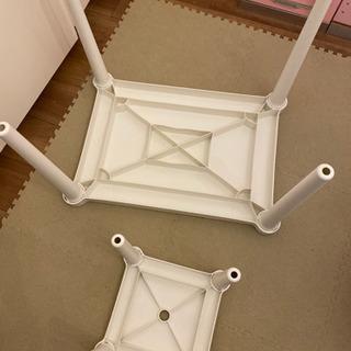 IKEA 子供用テーブルと椅子セット 机  デスク - 家具
