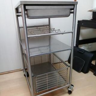 キッチンワゴン IKEA  分解不可 現状渡し