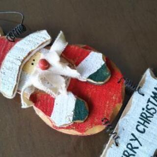 ❤️雑貨好きな方の木製サンタクロース♥