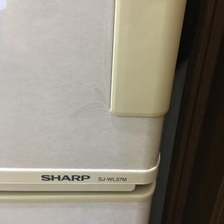 シャープ ノンフロン冷凍冷蔵庫あげます  0円