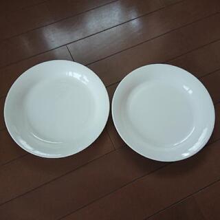 無印 ボーンチャイナ お皿2枚セット