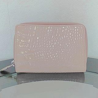フルラ 二つ折り財布 ラウンドファスナー ピンク ♡