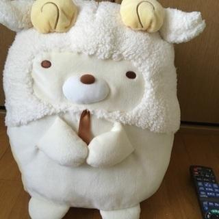 すみっこぐらし・ねこ(羊かぶりもの)