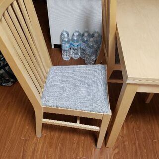 ダイニングテーブル&椅子2個