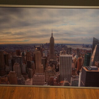 IKEA 絵 ピクチャー VILSHULT ニューヨーク 140...