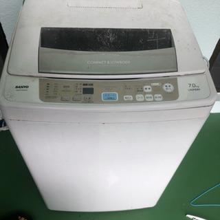 洗濯機 2011年製 サンヨー 7キロ
