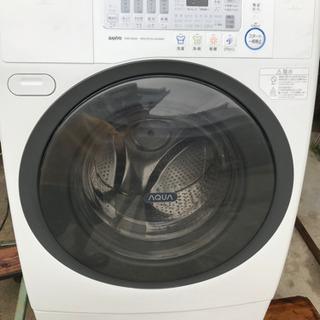 ★ドラム式全自動洗濯機9k★13800円★★SANYO★稼…
