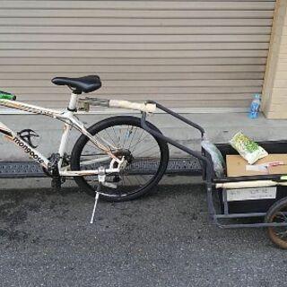 サイクルトレーラー制作します。 輸送依頼を受けたりすれば基は、直...