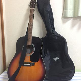 【美品】ギター、ケース、ストラップ