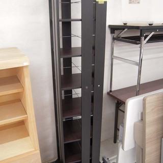 回転式本棚 コミック収納棚 黒色 幅:33cm 苫小牧西店