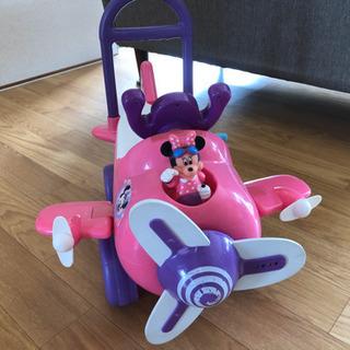 ミニーちゃん 乗用玩具 手押し車