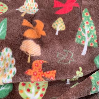 ふんわりフランネル軽量毛布&ハーフケットのセット お値下げ…