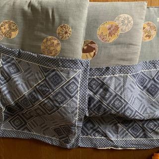 座布団3枚 替のカバー2枚