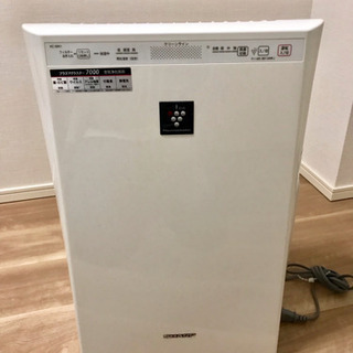 シャープ 加湿機能付空気清浄機