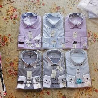 カッターシャツ未使用 えり回り41,ゆき84~86 Lサイズ