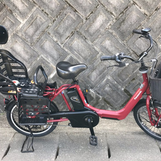 197電動自転車 パナソニックギュットアニーズ20インチ