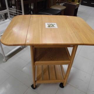 伸長式ワゴンテーブル 伸長式ダイニングテーブル 伸長式テーブル ...