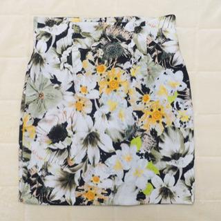 【snidel】花柄タイトスカート