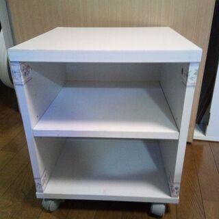 キャスター付きサイドボックス/テレビ台