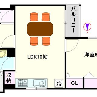 【ヒラソール恵美須】1号タイプ!1LDKタイプ!周りは住宅街で静...