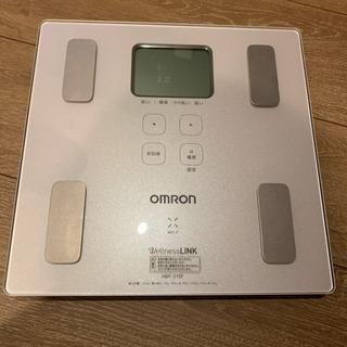 OMRON 体重体組成計 カラダスキャン HBF-215F