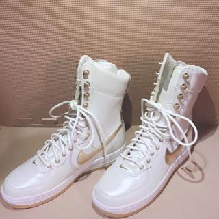 【値下げ】 Nike Airforce one ナイキ レディー...