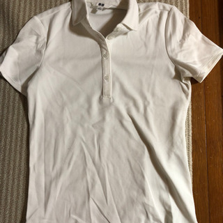 ポロシャツ 白 5枚 ユニクロ 郵送可