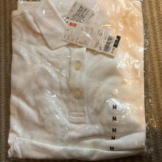 ポロシャツ 白 新品 ユニクロ ドライ スーピマコットン