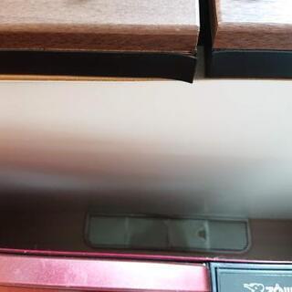 ニトリ 大型キッチンボード ブラウン 幅70cm 高さ約2メートル - 売ります・あげます