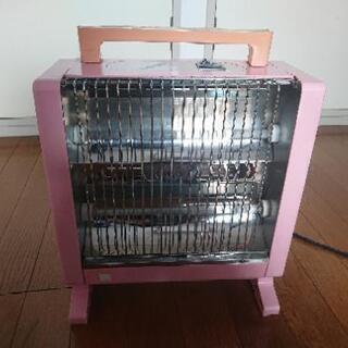電気ストーブ(ピンク)