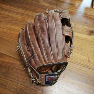 少年野球ソフトボールグローブ 右利き用