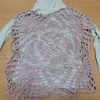 手編みベスト 新品