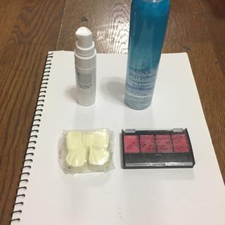 オールインワンジェル、乳液、口紅、入浴剤 4点