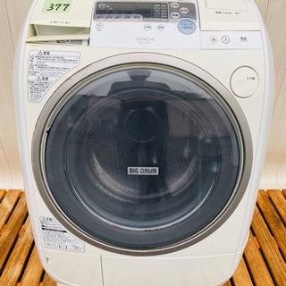 377番 HITACHI✨日立電気洗濯乾燥機⚡️BD-V1100L‼️