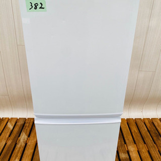382番  SHARP✨ノンフロン冷凍冷蔵庫❄️ SJ-D14A...