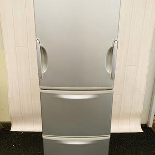 383番  SHARP✨ノンフロン冷凍冷蔵庫❄️ SJ-KG35...