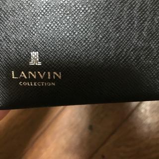 LANVIN黒財布