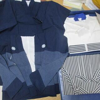 七五三用(5歳)男子用羽織袴 着物他草履足袋など小物セット