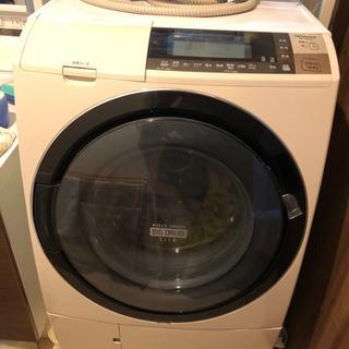 日立ドラム式洗濯乾燥機 ビッグドラムスリム ヒートリサイクル 風...