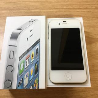 iPhone4s  ホワイト ソフトバンク