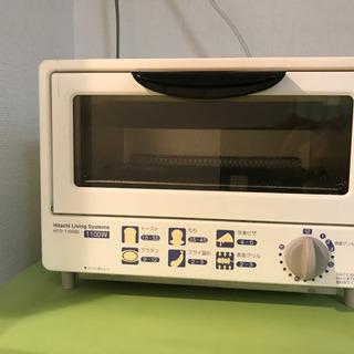 HITACHI オーブントースター HTO-1100BI