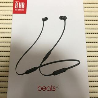 超美品 beatsX ワイヤレスヘッドホン ブラック 使用期間短...