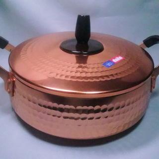 純銅鍋&鍋の友淡雪 2点セット