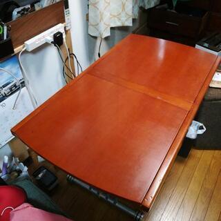 伸縮&昇降テーブルジャンク差し上げます。