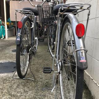 中古自転車数台あります