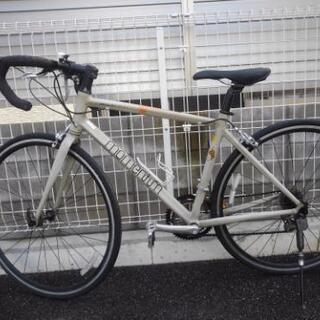 中古自転車 前後タイヤ交換! ロードバイク 700×28C 2×...