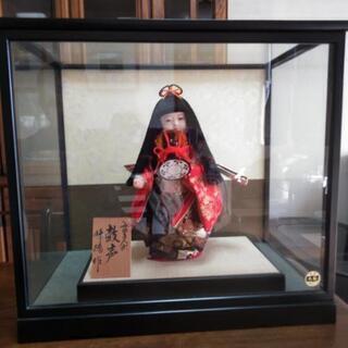 日本人形 みゆき人形 峰徳作 鼓声