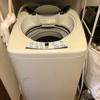 洗濯機 10月22日午前引渡し