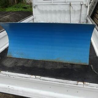 除雪機用ハイド板 幅110 ユキオスタイプに改造用 の画像